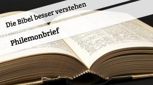 Vortrag zum Philemonbrief